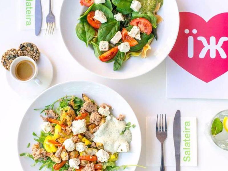 Меню ресторана Salateira в городе Киев, отзывы клиентов ⭐ TipMyMenu