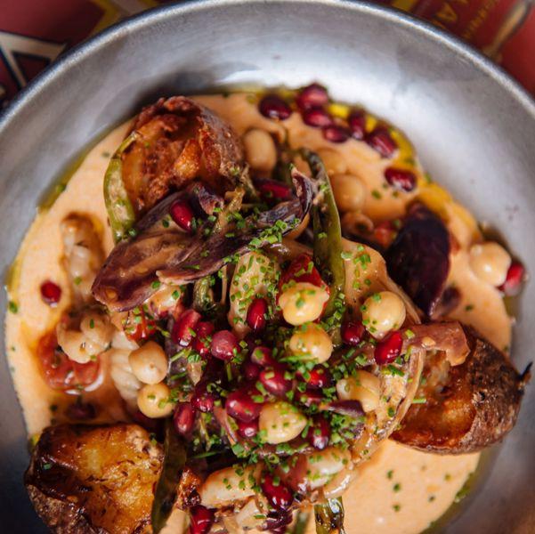 Фото Вок кальмар з підпеченою картоплею  в Fishkultura