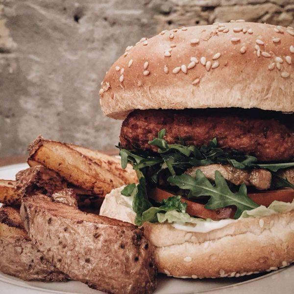 Фото Бургер Вегетаріанський в Косатка