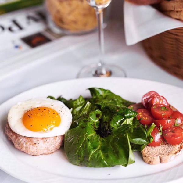 Фото Біфштекс з трюфелем та гострими томатами чері в VINO e CUCINA
