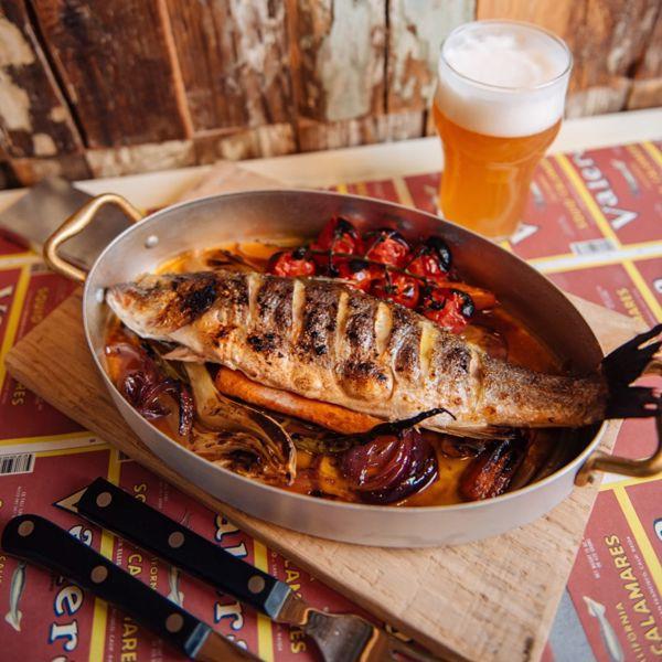 Фото Сібас із печі з фенхелем  в Fishkultura