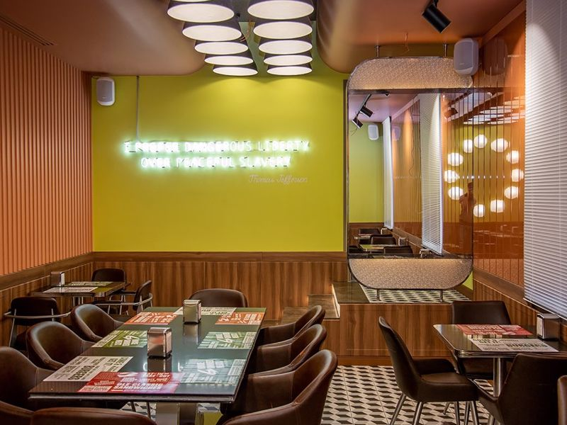 Меню ресторана Liberty Diner (Либерти Дайнер) в городе Киев, отзывы клиентов ⭐ TipMyMenu